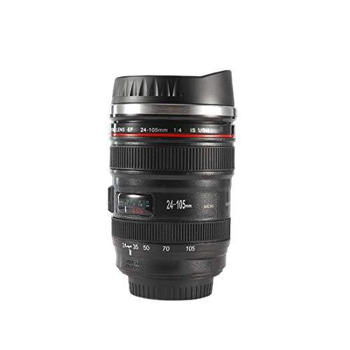 GGZX 1 stück Kamera objektiv thermoskanne für Canon ef 24-105mm kaffeetasse Tasse Edelstahl w trinkdeckel