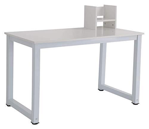 Las mesas de Ordenador Tabla del Escritorio del Estudio PC portátil Estación de Trabajo Ministerio del Interior Estante Blanco de Oficina en casa
