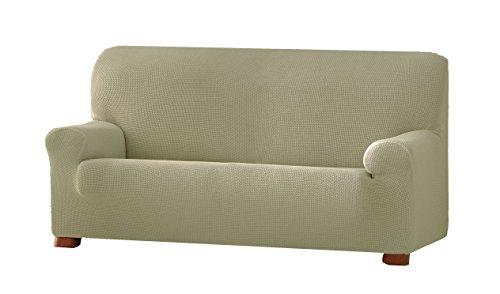 Eysa Cora bielastisch Sofa überwurf 3 sitzer Farbe 11-leinen, Polyester-Baumwolle, 36 x 27 x 17 cm