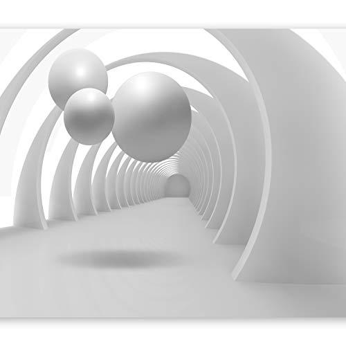 murando Fototapete 3D 350x256 cm Vlies Tapeten Wandtapete XXL Moderne Wanddeko Design Wand Dekoration Wohnzimmer Schlafzimmer Büro Flur Abstrakt Kugeln Architektur a-B-0034-a-a