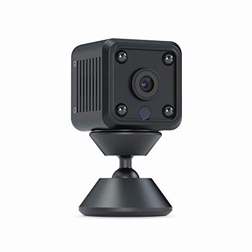 Telecamera Nascosta WiFi,CACAGOO 1080p HD Telecamera Spia con Visione Notturna, Registrazione Video e Rilevamento del Movimen