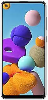 موبايل سامسونج جالاكسي A21s SM-A217FZKGEGY بشريحتين اتصال- 6.5 بوصة، 64 جيجابايت، 4 جيجابايت رام، 4G LTE، اسود