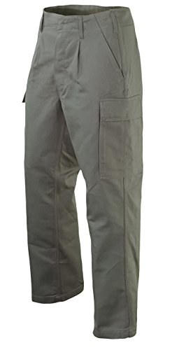 Leo Köhler Original Bundeswehr - Pantaloni da campo, 100, oliva, 3/25