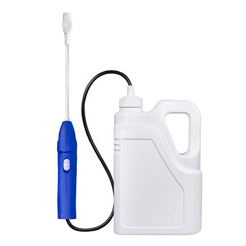 PTN Pulverizador Eléctrico Portátil ULV, Máquina Nebulizadora Desinfectante 2L, Pulverizador Nebulizador Desinfectante, Boquilla Ajustable, Multiusos para Jardín, Lavado de Coches, Limpieza del Hogar