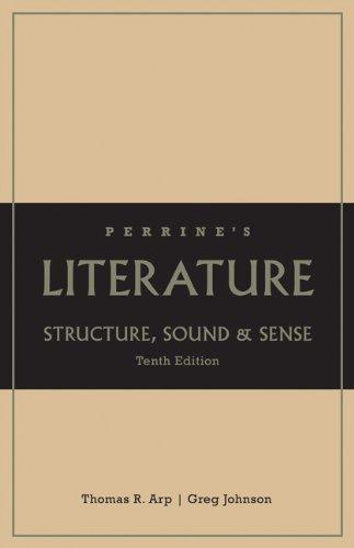 Perrine's Literature: Structure Sound & Sense, Grades K-12 School