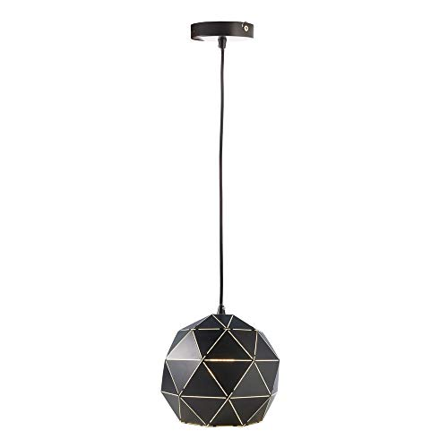 Deko-Light Suspension Ronde 250 mm E27 Noir Mat