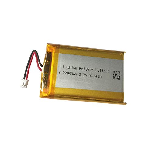 3.7v Lithium Battery 2200mAh for PS4 Controller Battery Replacement LIP1522 Battery Pack fits Playstation 4 Controller CUH-ZCT1E, CUH-ZCT1H, CUH-ZCT1H/B, CUH-ZCT1H/R, CUH-ZCT1U