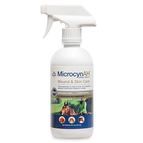 Manna Pro MicrocynAH Wound & Skin Care Spray, 16 oz