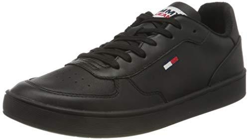 Tommy Jeans Herren Donovan 1a Sneaker, Schwarz, 44 EU