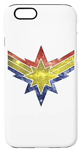 Punch buchi Nel Il Cielo Con Stella Custodia Per Telefono Compatibile Con iPhone 6, iPhone 6S Copertura in Plastica + Silicone Dura Hard Plastic Cover