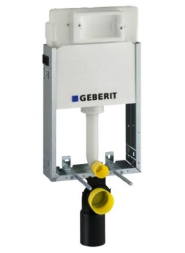 Geberit 110100001 Montage-Element Kombifix Basic für Wand-WC mit UP-Spülkasten UP100