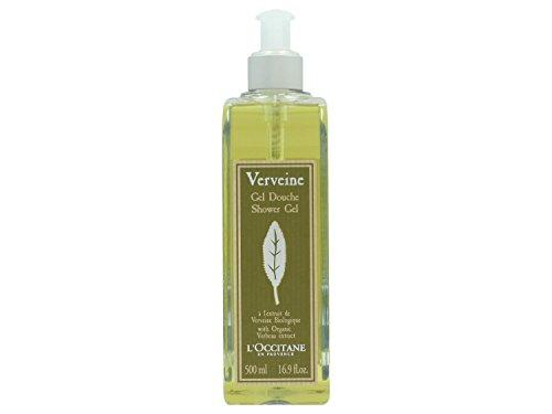 L'Occitane Verbena Shower Gel unisex, erfrischendes Duschgel, 1er Pack (1 x 500 ml)