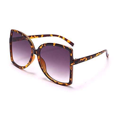 ShZyywrl Gafas De Sol De Moda Unisex Gafas De Sol Cuadradas De Gran Tamaño Mujeres Hombres Gafas De Sol Gafas De Sol De Moda Coloridas Gafas Uv400 3