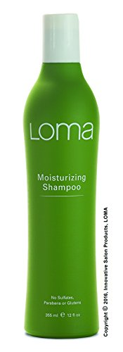 Loma Hair Care Moisturizing Shampoo, Mango/Orange/Tangerine, 12 Fl Oz