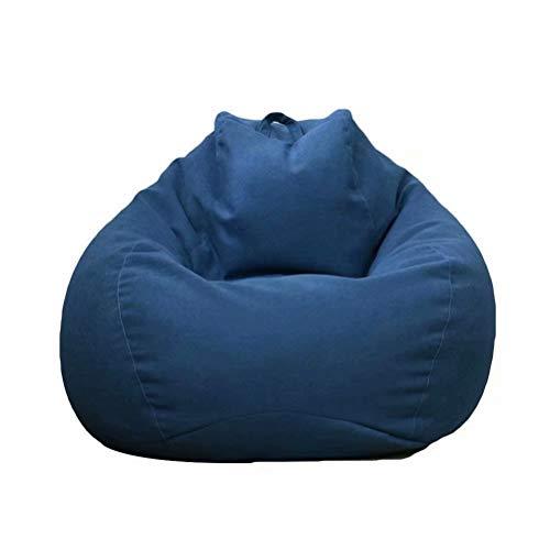 ビーズクッション 座布団 ソファー 豆袋 人をダメにするソファ なまけ者ソファー 伸縮 軽量 腰痛 低反発 90*110cm カバー洗濯可能