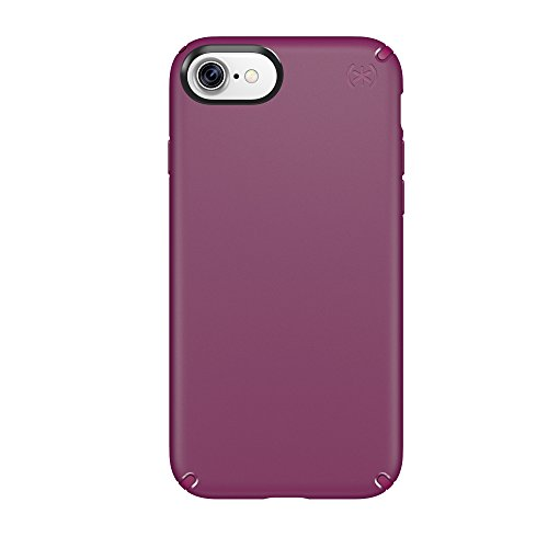 Speck Products 79986-5748 Presidio Cell Phone Case for iPhone 7, Syrah Purple/Magenta Pink
