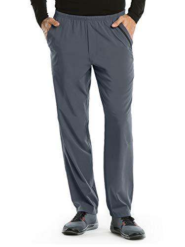 BARCO One 0217 Men's 7 Pocket Athletic Jog Scrub Pant Granite S Short