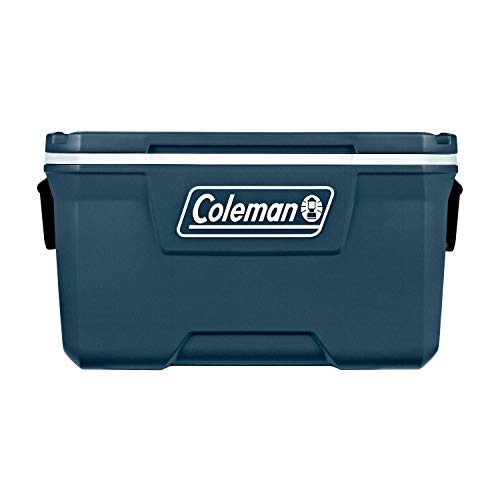 Coleman Ice Chest | 70 Quart Hard Ice Chest Cooler, Space Blue