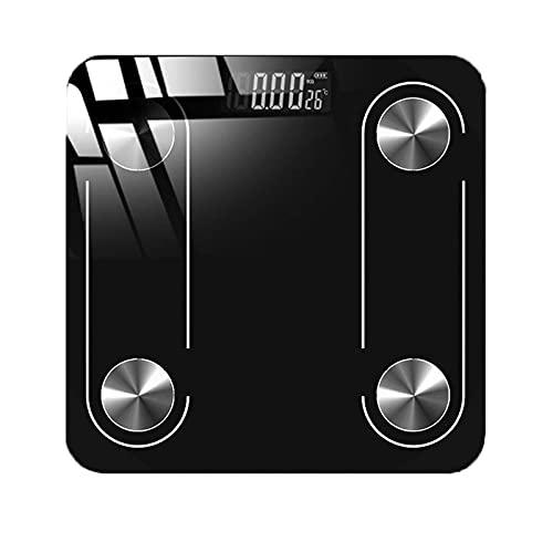 SCOC Bilancia Bilancia in Vetro BMI Bluetooth BIDE BIGHT BIDE LED Bilancia da Pavimento Digitale...