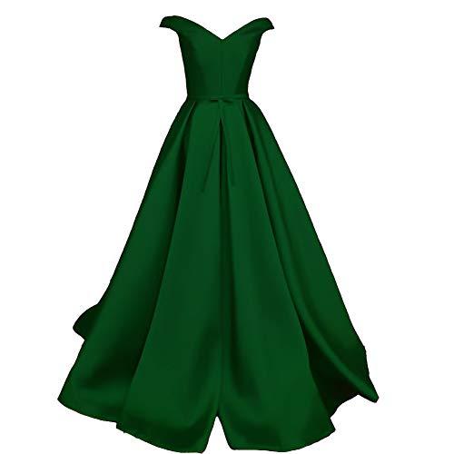 Off the Shoulder Silk Wedding Dress