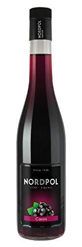 Cassis Likör aus Spanien (0,7 L, 16% vol.), ohne Farbstoff, aus Cassis-Saft