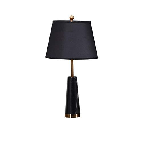 Lámpara de mesita de noche Dormitorio Lámparas de mesa lámpara de cabecera posmoderna minimalista grande Ins decorativo Calentar Mesilla de noche de lectura de luz Luz Lámpara de mesa de centro para s