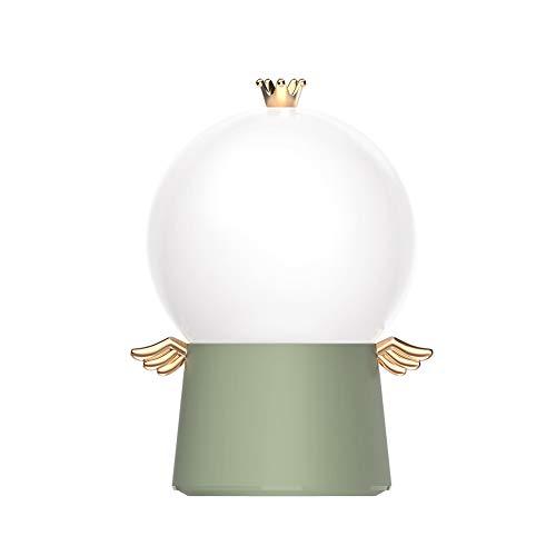 KJDFNLa proyección de la Noche de luz Hijos, Ángel proyección de luz, la luz LED de Carga USB, Conveniente para el Dormitorio, es Navidad los niños,Verde