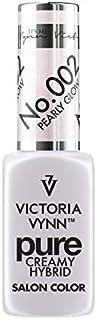 Victoria Vynn Pure Creamy Hybrid Salon Color 8mL, 002 Pearly Glow - Esmalte de uñas