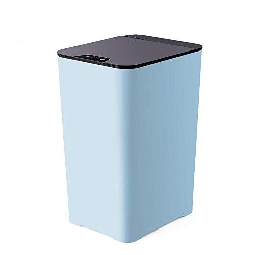 WNN-URG Ahorro de Espacio Bote de Basura, de baño, la Cocina o del Ministerio del Interior, Tacho de la Basura quede por Debajo de la mayoría de escritorios URG (Color : Blue)