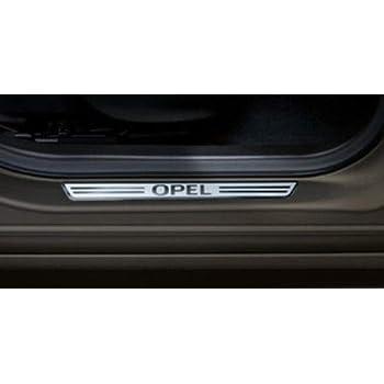 set da 2 Opel Battitacco effetto alluminio