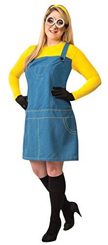 Rubie's Women's Plus Despicable Me 2, Size Female Minion Costume, Multicolor