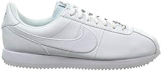 [ナイキ] コルテッツ CORTEZ Basic Leather Low Casual Running Shoes メンズ 819719-110 ベーシック レザー カジュアル スニーカー White (measurement_32_point...