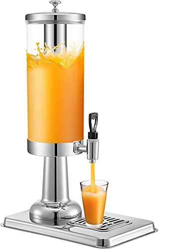 zaizai Dispensadores de Agua Caliente Urna de Jugo para dispensadores de Bebidas comerciales, Cuerpo de Acero Inoxidable, para restaurantes y Banquetes exclusivos