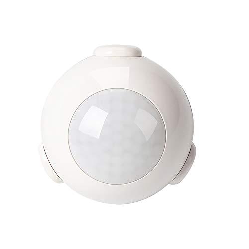 XASY PIR bewegingsmelder, Z Wave Plus Motion Sensor Smart Infrarood Detector Home Automation gevoeligheid bewegingssensor met alarm systeem draadloze melding - wit