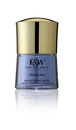 Fair en wit make-up make-up voor donkere huid Sparkling Pearly Glitter Glitter poeder oogschaduw 264 4,5 g, blauw
