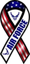 Car Magnet 2-in-1 Red, White, and Blue Air Force 8