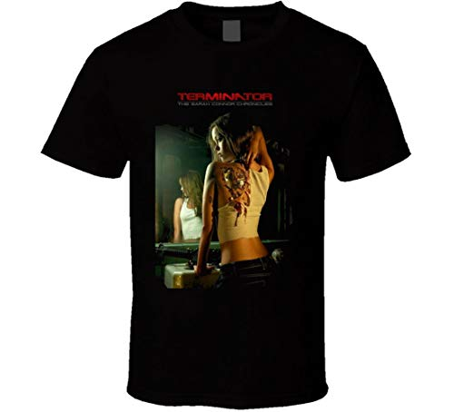 Terminator Sarah Connor Chronicles Camron TV Show T-Shirt Gr. 56, Schwarz