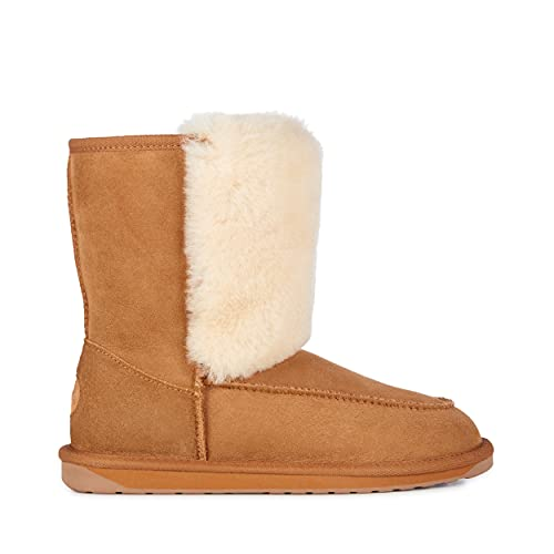 EMU Australia Womens Launceston Winter Real Sheepskin Boots