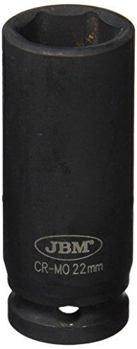 'Long JBM 12070 – Douille à chocs 6 pans 1/2, 22 mm)