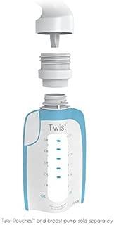 Kiinde Twist Milk Storage Bag Breast Pump & Baby Bottle Adapter Kit for All Major Breast Pump Brands (Adapter Kit: for All Major Brands)