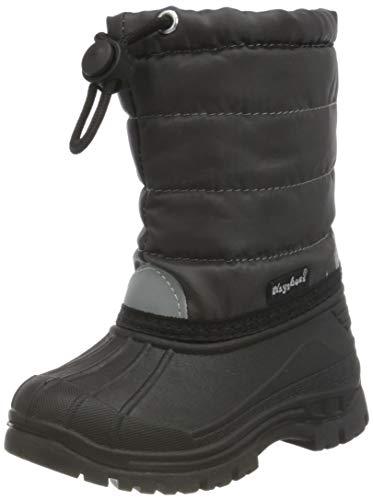 Playshoes Zapatos de Invierno Classic, Botas de Nieve Unisex niños, Gris (Grau 33), 22/23 EU