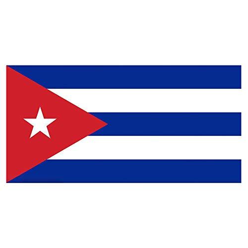 Bandera de Xiton Cuba – Banderas Grandes de Cuba – Bandera de Cuba 3 * 5 pies Durable para Uso Interior y Exterior, Eventos de decoración. Muestra a Todos tu país Orgullo Volando la Bandera Hoy.