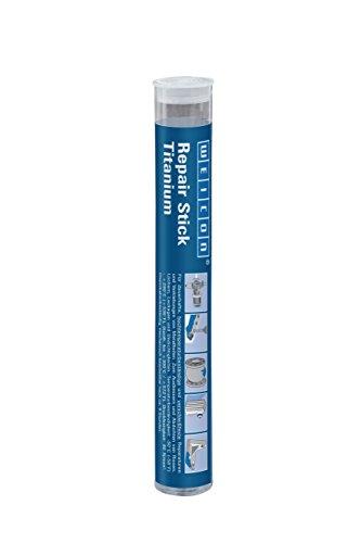 WEICON - Stick de titanio, adhesivo resina epoxi de dos componentes, 115 g