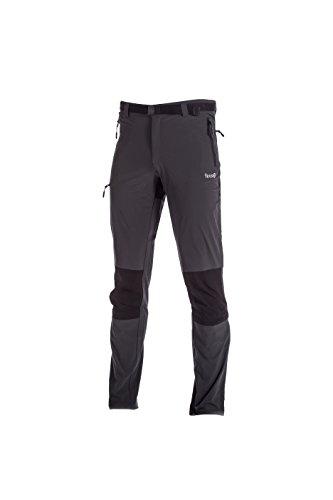 IZAS Olves Pantalon de Montagne Homme, Gris Foncé/Noir, FR : S (Taille Fabricant : S)