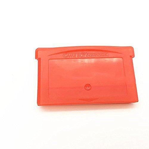 Game Cartridge Case Game Card Storage Box für GameBoy Advance GBA / GBA SP / GBM / NDS / NDSL mit Schraube (rot)