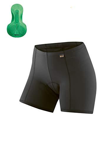 Gonso Erwachsene Sitivo U W Trikots, Black/Bright Green, 42