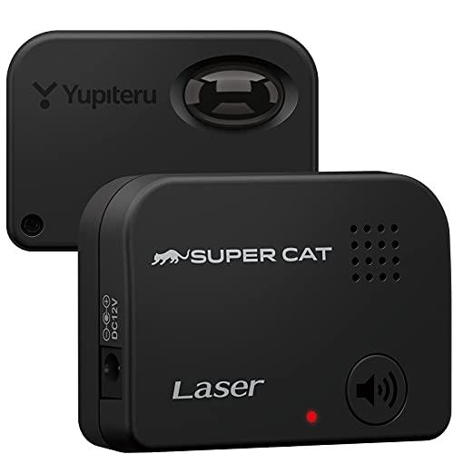 ユピテル レーザー探知機 SUPER CAT LS20 エスフェリックレンズ & 専用高利得アンプIC 搭載 誤警報低減機能 コンパクト設計 Yupiteru