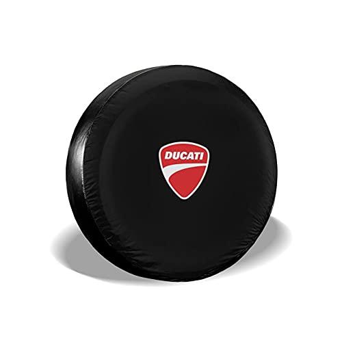 'N/A' Du-ca-ti - Cubierta universal para llantas de repuesto para neumáticos, impermeables, para remolques, vehículos todoterrenos y muchos vehículos