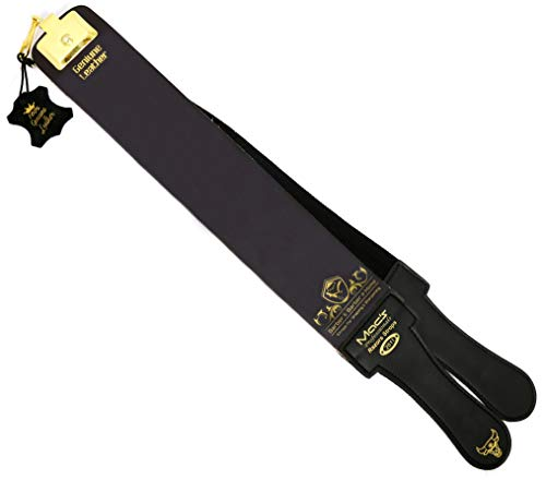 Professional Quality Sharpening Strop Made of Real Leather 3' Wide and 22' Long Macs -2011G