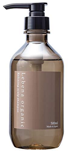レベナオーガニックシャンプー500mlしっとり高保湿ボタニカルスカルプノンシリコンアミノ酸シャンプー天然由来無添加セラミド植物幹細胞配合